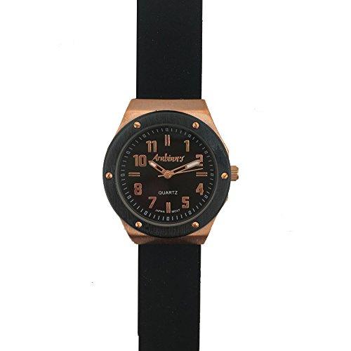 ARABIANS Reloj Analógico para Mujer de Cuarzo con Correa en Caucho DPP2192N: Amazon.es: Relojes