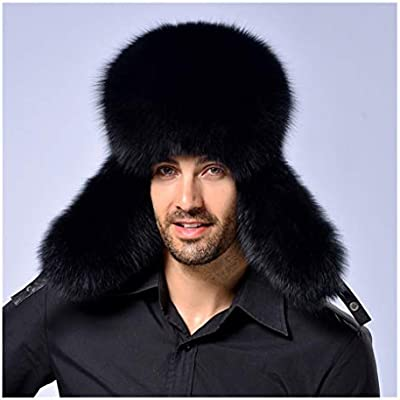 e0439b82648df Amazon.com  Midress Outdoor Warm Russian Ushanka Trapper Hat Unisex ...