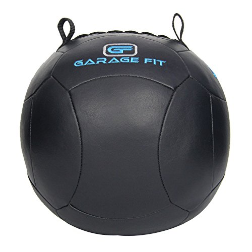 Soft Medicine Ball / Wall Ball for Cross Training (Black, 6)
