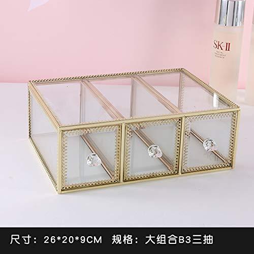 Muebles caja de almacenamiento mesa escritorio joyería caja de ...