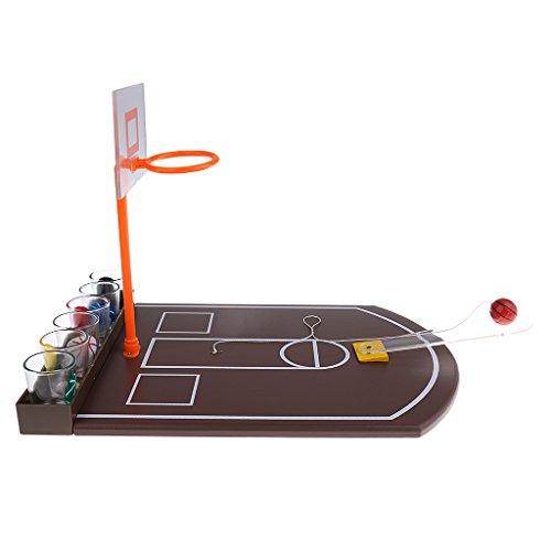Baoblaze バスケットボールショット グラス セット 大人 パーティー パブ バー 楽しむ エンターテイメント おもちゃ 楽しみ ギフト