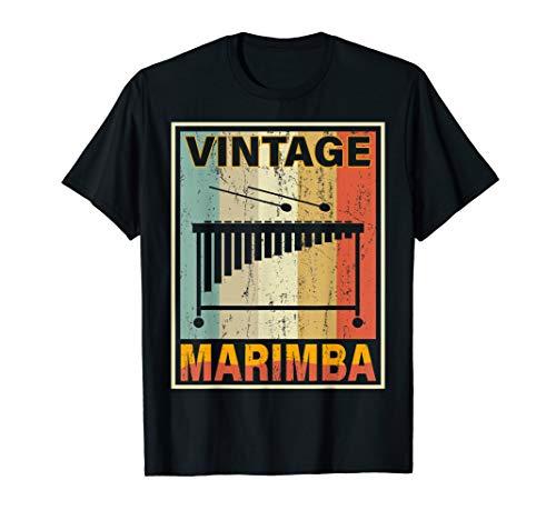 Vintage Style Marimba  T-Shirt