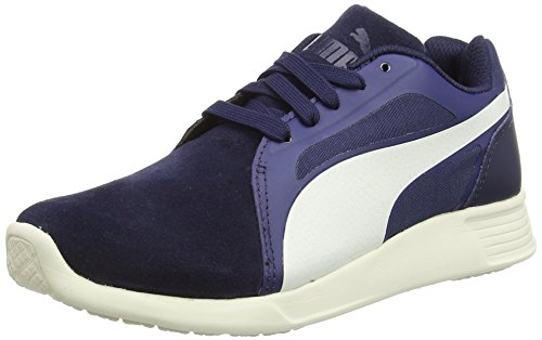 Blu Running Sd St Puma Evo whisper Trainer Da peacoat blue White Scarpa 6Rxqg4