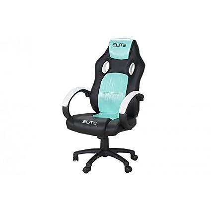 Oficina de y Gaming silla Elite MG – 100 piel sintética verschidene Colores, color Schwarz