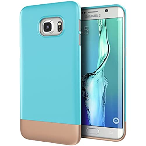 Galaxy S7 Edge Case, Cimo [Slide] Hard Case Two Piece Shock Absorbing Protection Cover for Samsung Galaxy S7 Edge Sales