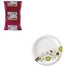 KITDXEUX9WSPKOFX01101 - Value Kit - Hills Bros. Original Coffee (OFX01101) and Dixie Pathways Mediumweight Paper Plates (DXEUX9WSPK)