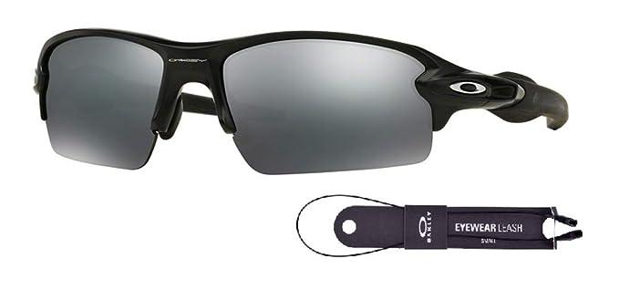 b6595419a47 Oakley Flak 2.0 OO9295 929501 59M Matte Black Black Iridium Sunglasses+BUNDLE  with Oakley