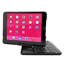 iPad Mini 1, iPad Mini 2 and iPad Mini 3 Keyboard, Snugg [Black] Wireless Bluetooth Keyboard Case Cover [Lifetime Guarantee] 360° degree Rotatable Keyboard for Apple iPad Mini 1, iPad Mini 2 and iPad Mini 3