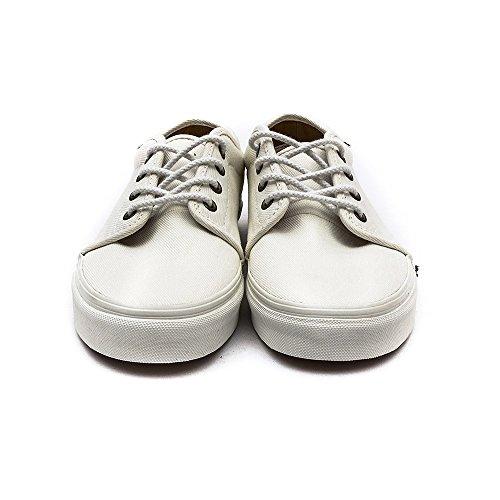 Vans Unisex 159 Vulcanized (T&L) Skate Shoe White Zmaet