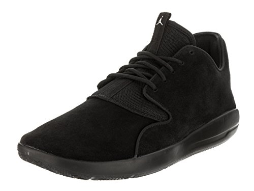 Jordan Eclipse Leather Men's Running Shoes Black/Black 724368-010 (10 D(M) (Jordan Leather Sneakers)