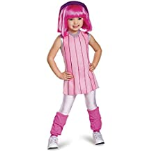 Lazy Town Stylin' Stephanie Deluxe Child Halloween Costume Size 4-6