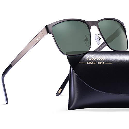 Lenti Polarizzati Verde Occhiali Protezione Pistola telaio Guida Z1 Carfia Uomo Uv400 Sole Da 7PdUSxqI
