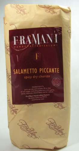 Fra Mani Salami (Fra Mani Salametto Piccante Spicy Dry Chorizo - 10 Ounce)