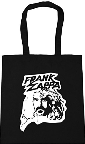 litres Black Bag 10 Zappa Tote HippoWarehouse 42cm x38cm Frank Gym Beach Shopping wvxqPYx6