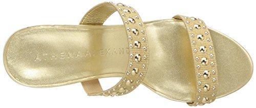 Athena Jettie Sandal Heeled Gold Alexander Women's vpr17xvn