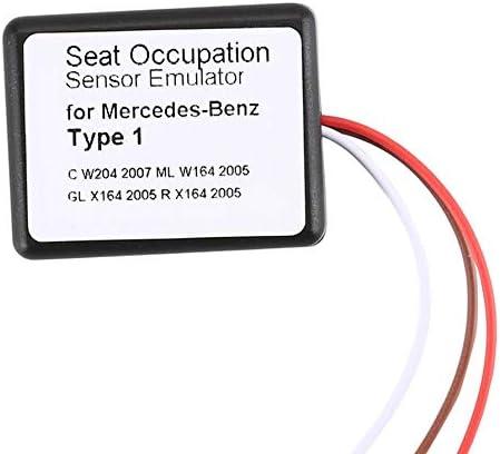 Nidomingo For Mercedes Benz Mb Srs Emulator E W211 Sl W230 Slk W171 Seat Emulator Airbag Reset Tool Type 2 Auto