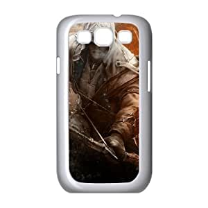 assassins creed 3 connor 2 Samsung Galaxy S3 9300 Cell Phone Case White custom made pgy007-9984656