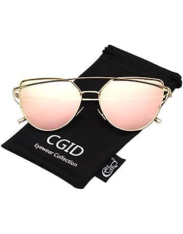 0f4bff9cc8 CGID Mode Polarisierte Katzenaugen Sonnenbrille For Damen UV400  reflektierenden Spiegel