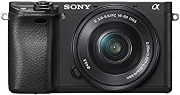 Sony Alpha a6300 24MP FHD Mirrorless Digital Camera w/16-50mm Lens