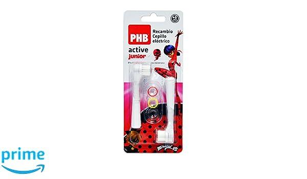 PHB Active Junior Recambio Cepillo de Dientes Eléctrico Infantil con Filamentos de Tynex: Amazon.es: Salud y cuidado personal