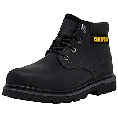 Caterpillar Men's Outbase Steel Toe Work Boot, Black 11 W US | Industrial & Construction Boots