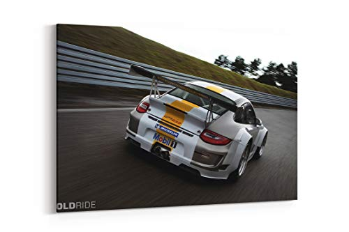 2011 Porsche 911 Gt3 RSR Racing Race Supercar Supecars V - Canvas Wall Art Gallery Wrapped 40
