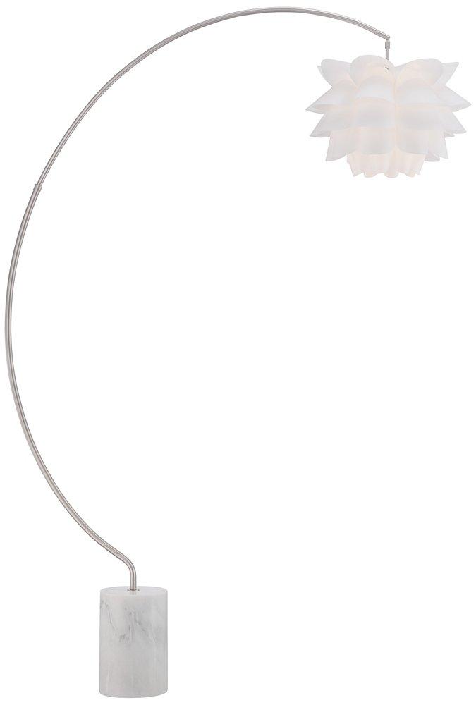 Possini euro white flower arc floor lamp amazon mozeypictures Image collections