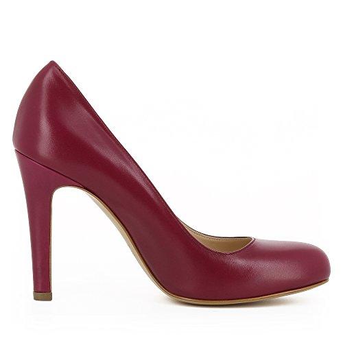 Lisse Cristina Cuir Evita Fuchsia Escarpins Rose Femme Shoes qXzqwxBn1Z