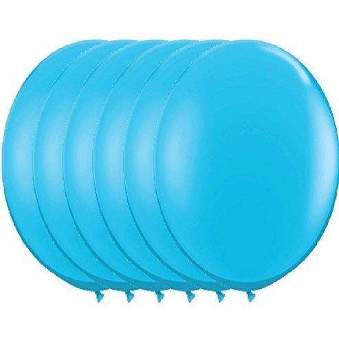 36 Inch Latex Balloon Pastel Turquoise (Premium Helium Quality) Pkg/6