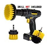 Best Tile Shower Cleaners - Scrub Brush Drill Attachment Kit Ninonly Nylon Power Review