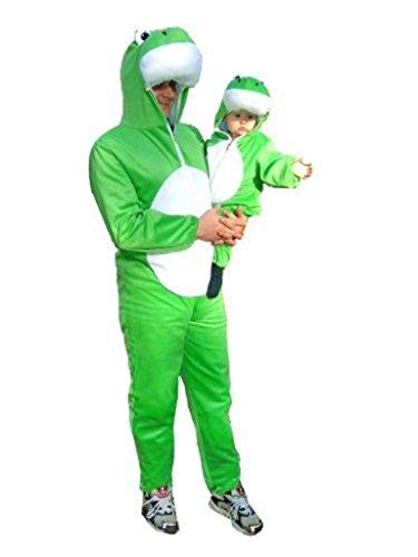 Fantasy World Frog Costume Halloween f. Men and Women, Size: M/ 08-10, J01 -