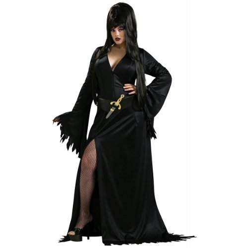 [Elvira Plus Size Costume] (Elvira Plus Size Costumes)