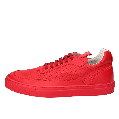 Di Mercury Rouge Homme Mariano Sneaker Blanc 774M Lacets Vaio Pelle 4nqHxB