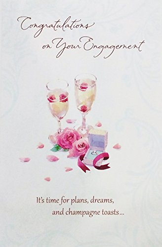 Congratulations on Your Engagement Greeting Card -