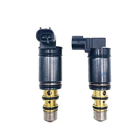 6SE 7SE aire acondicionado ac compresor válvula de control electrónico/refrigerante Vontrol válvulas para BMW borde Ford Escort: Amazon.es: Coche y moto