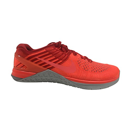 Nike Mens Metcon Dsx Flyknit Chaussure Dentraînement Total Cramoisi / Hyper Orange