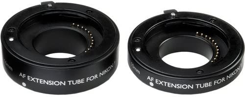 Vello Econo Auto Focus Extension Tube Set for Nikon 1 Mount