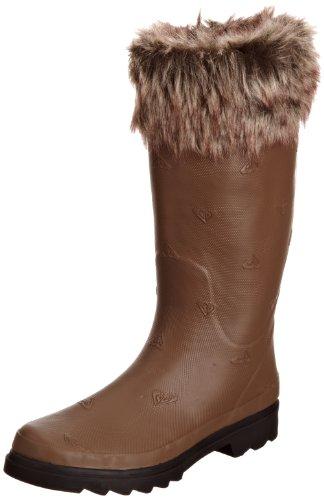 Roxy - Schuhe - JADE - WPWSL202-CNB - Damen Gummistiefel Braun (CNB chesnut brown)