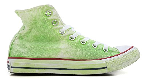 Sneaker All Star Green Hi Converse Donna Neon FdtBdwq