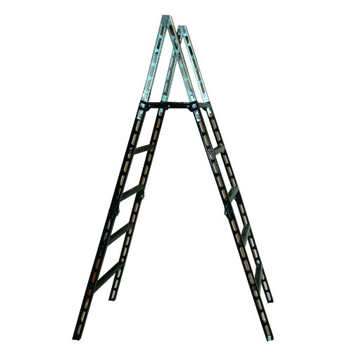 MoJack EasyStep – Lightweight, Easy to Transport Folding Ladder, Makes Crossing Fences Safe and Easy, Rugged Steel-Tube Construction, Supports up to 300lbs