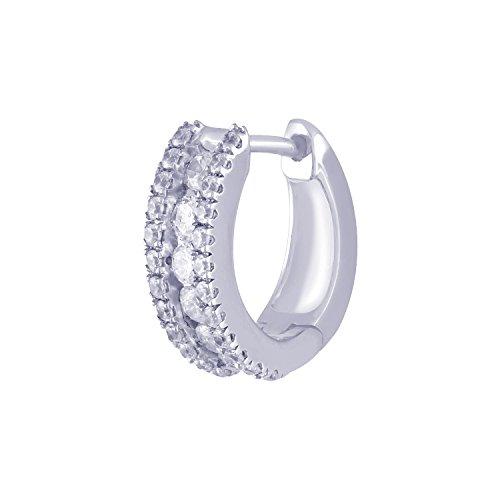 Giantti 14carats Diamant pour femme Dangler Boucles d'oreilles (0.7424CT, VS/Si-clarity, Gh-colour)