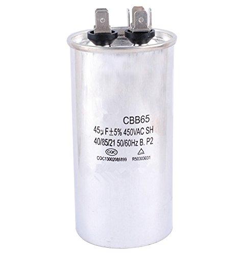 Podoy CBB65 Capacitor Motor Running for Air Conditioner 450VAC SH 40/85/21 50/60Hz 45uF