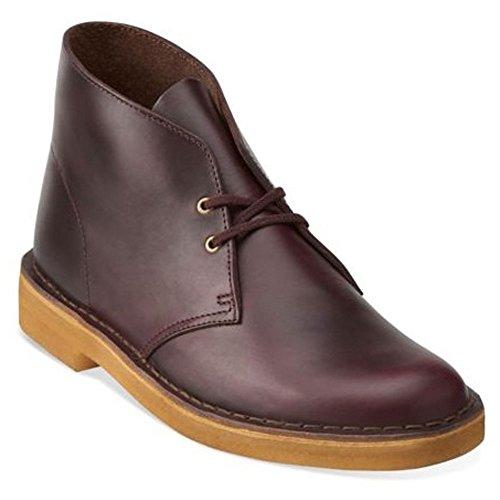 Clarks Originals Men's Wine Leather Desert Boot 13 D(M) - Authentic Original Chukka