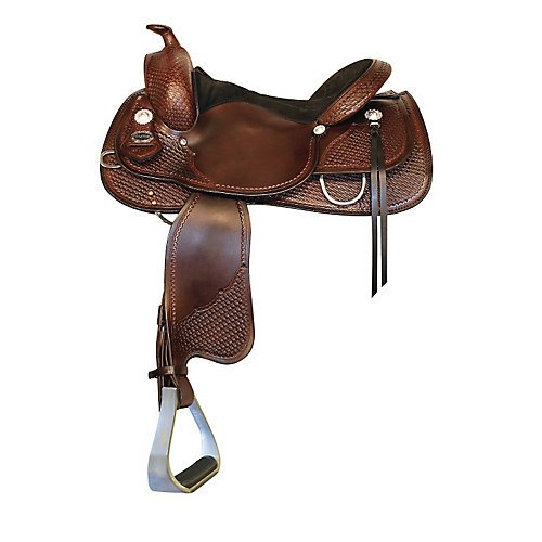 Fabtron Crates Sq Skirt Padded Classic Reiner Saddle 16in