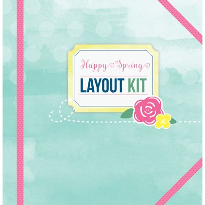 Happy Spring Layout Kit by Youngevity