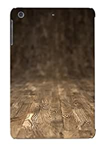 Improviselike Shock-dirt Proof Wooden Floor Case Cover Design For Ipad Mini/mini 2 - Best Lovers' Gifts by supermalls