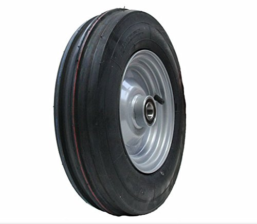 Parnells 3.50-8 Haybob rake turner 350x8 wheel tyre Wanda tire fitted rim 25mm heavy