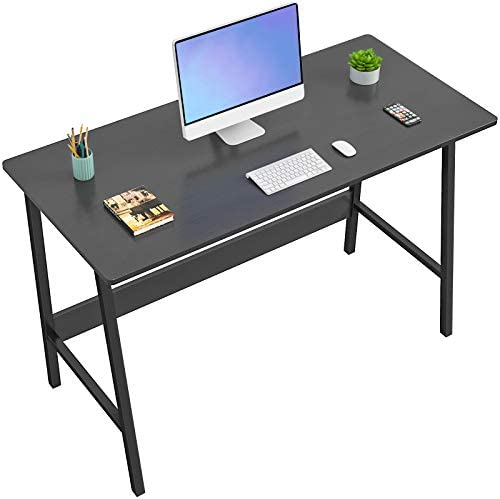 Homfio Computer Desk 39 Inch Modern Sturdy Writing Desk