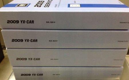 2009 CADILLAC XLR X L R Service Shop Repair Manual Set FACTORY BOOKS 09 NEW