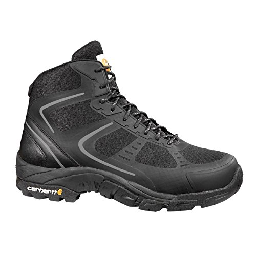 Carhartt Men's CMH4251 6'' Lightweight FastDry Technology Steel Toe Hiker Boot, Black Mesh and Synthetic, 12 M US by Carhartt (Image #1)